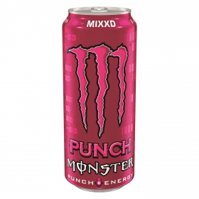 Bebida energética Monster Punch 50 cl.