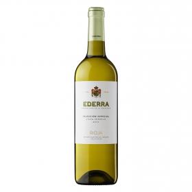 Vino D.O. Rioja Blanco viura-verdejo Selección especial Ederra 75 cl.