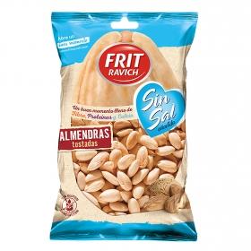 Almendras tostadas sin sal añadida Frit Ravich sin gluten 110 g.