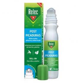 Loción post picaduras en roll-on Relec 15 ml.