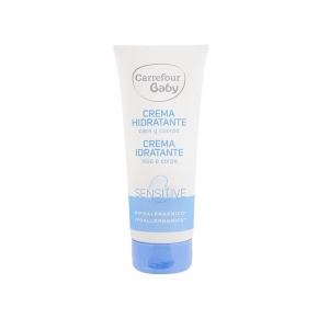 Crema Hidratante Carrefour Baby Cara y Cuerpo Sensitive 200ml