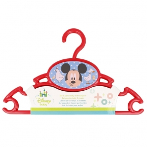 Set de 3 perchas Disney
