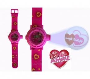 fa03a738d Reloj Digital Para Niños Con Proyector De Imágenes De Personajes Disney