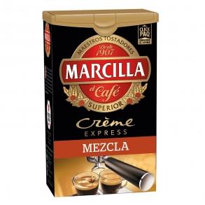 Café molido mezcla créme express Marcilla 250 g.