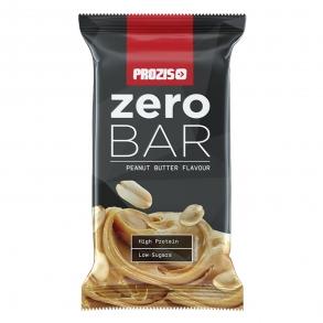 Barrita alta en proteínas y baja en azúcar sabor mantequilla de cacahuete Zero Prozis 40 g.