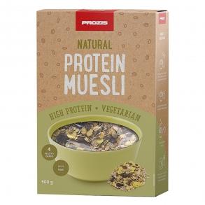 Muesli natural alto en proteínas Prozis 500 g.