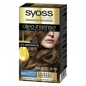 Tinte sin amoníaco oleo intense 6-10 rubio oscuro SYOSS 1 ud.