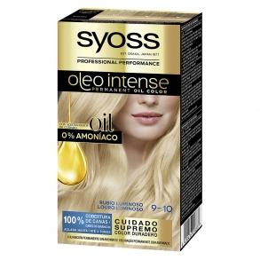 Tinte sin amoníaco oleo intense 9-10 rubio luminoso SYOSS 1 ud.