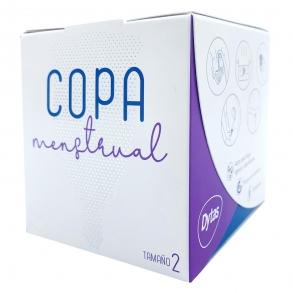 Copa menstrual tamaño 2 reutilizable ecológica 0 1 ud.