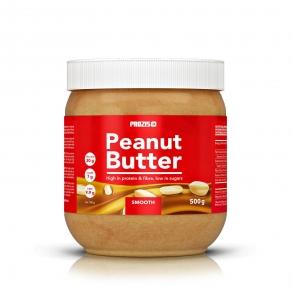 Crema de cacahuete suave alta en fibra y proteína Prozis 500 g.