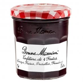 Confitura de cuatro frutas categoría extra Bonne Maman 370 g. Bonne Maman  370 g.