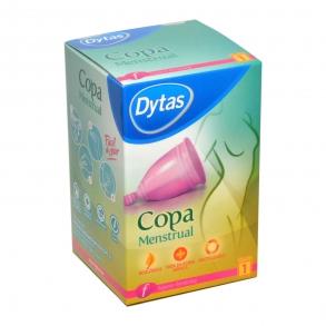 Copa menstrual tamaño 1 ecológica y reutilizable Dytas  1 ud.