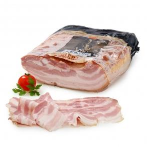 Bacon cocido y ahumado tradicional Antaño  Envase de  150 g. aprox.