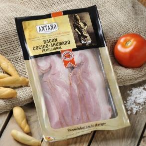 Bacon cocido y ahumado tradicional Antaño   200 g. aprox.