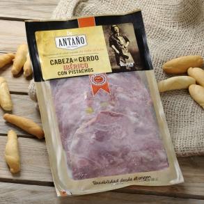 Cabeza de cerdo ibérica con pistachos Antaño   200 g. aprox.
