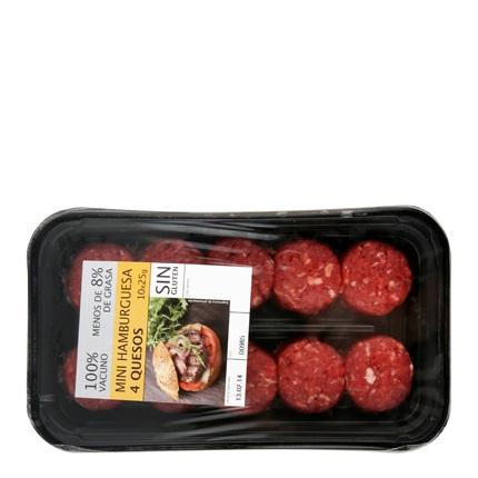 hamburguesa mini 4 quesos carrefour carrefour supermercado compra online. Black Bedroom Furniture Sets. Home Design Ideas