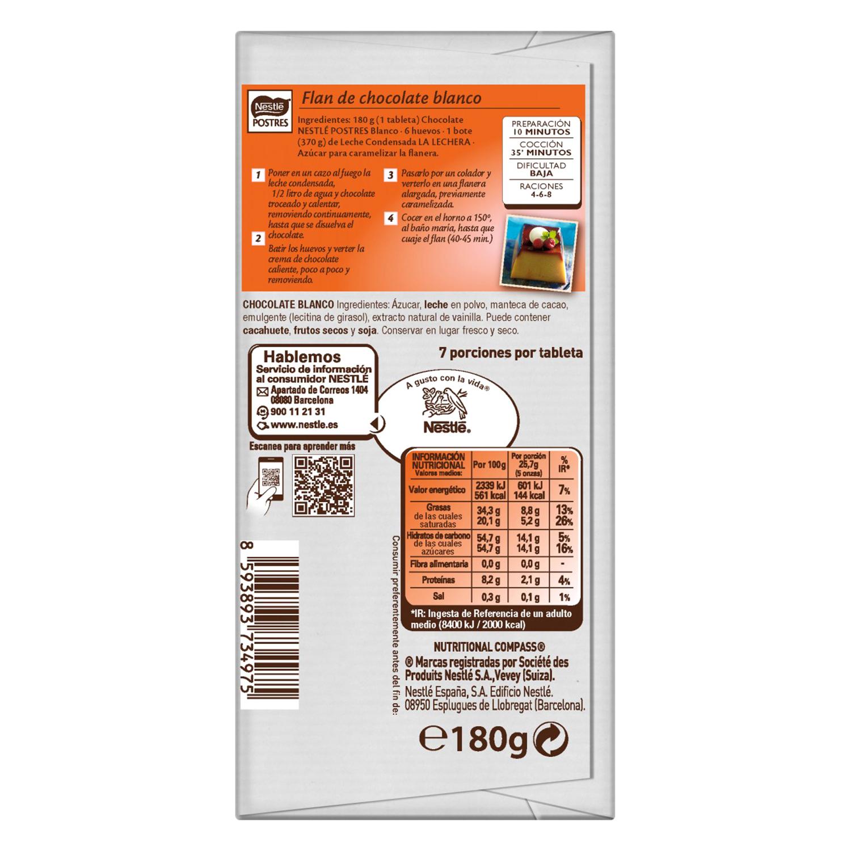 Chocolate Blanco Postres Nestl Carrefour Supermercado Compra Online # Muebles Cedros Esplugues