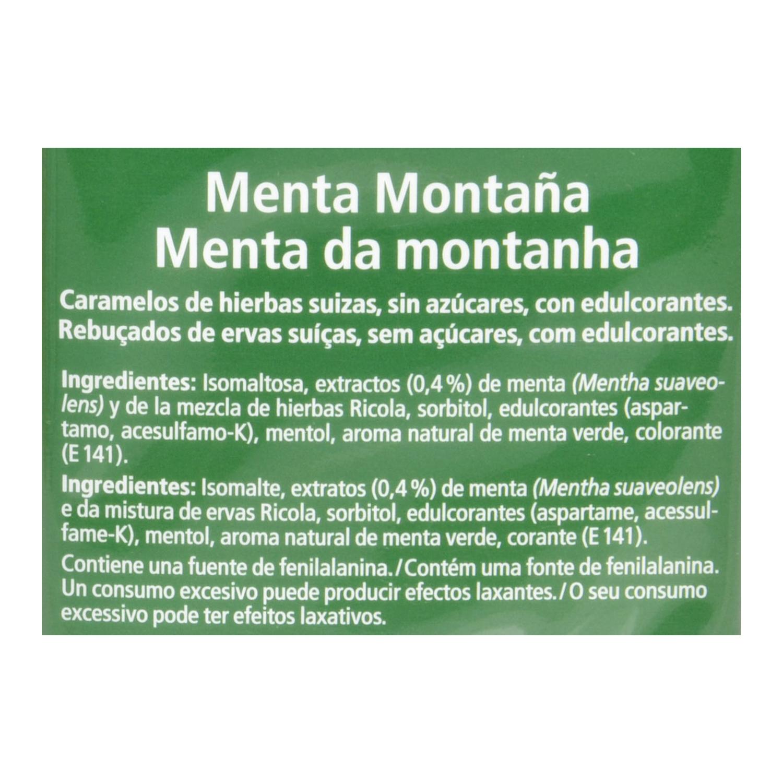Caramelo Menta Montaña sin azúcares Ricola - Carrefour supermercado ...