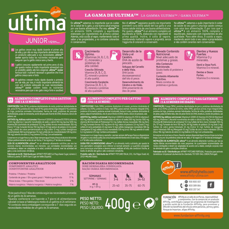 Alimento Gato Seco Junior Ultima - Carrefour supermercado compra online