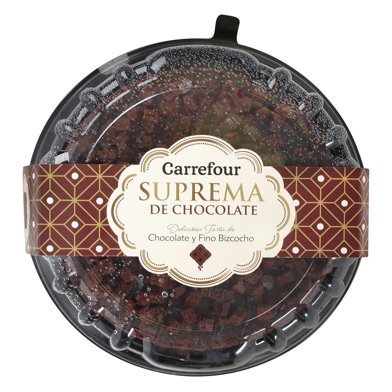 Tarta suprema chocolate - Carrefour supermercado compra online