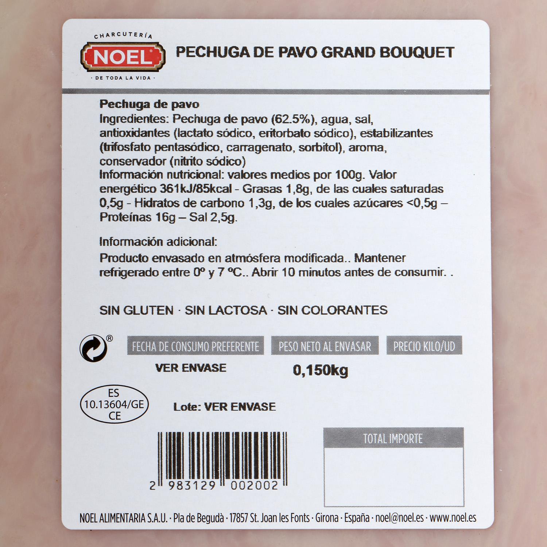 Pechuga de pavo Grand Bouquet Noel - Carrefour supermercado compra ...