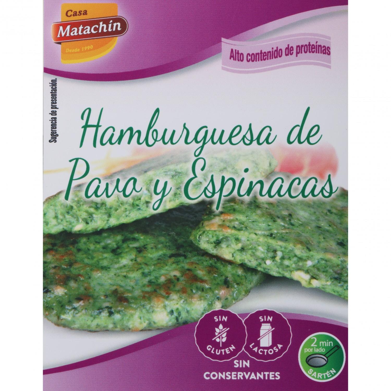 Hambuguesa de pavo y espinacas Casa Matachín - Carrefour ...