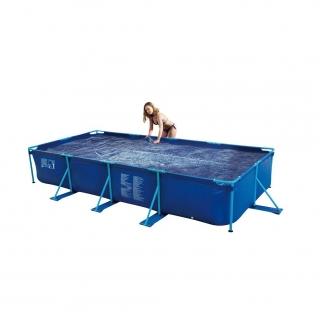 Cobertor piscina tubular 213x457x84cm puka puka carrefour for Cobertor piscina carrefour