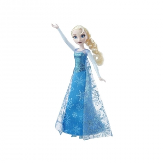 Hasbro - Frozen Elsa Canta y Brilla.Outlet. Reacondicionado