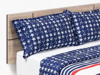 Set funda n rdica y 2 almohadas algod n tex home america - Funda almohada antiacaros carrefour ...