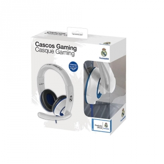 Headset Game&Chat Real Madrid para PS4 y Xbox One