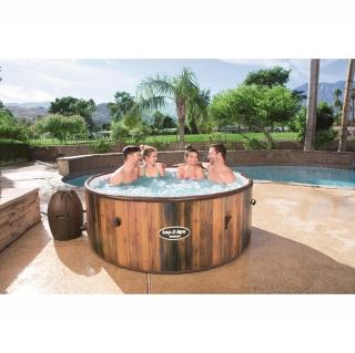 Lay z spa hawaii 180x180x71 cm las mejores ofertas de for Piscinas bestway carrefour