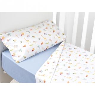 Conjunto de s banas de tres piezas estampadas para cuna - Funda almohada antiacaros carrefour ...