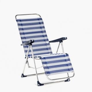 Tumbona relax 5 posiciones carrefour las mejores ofertas - Silla playa aluminio ...