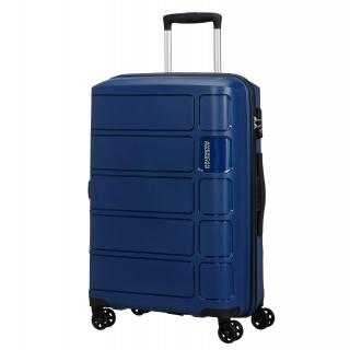 3e0b2b756 Trolley Splash 67 Cm Mediana con Doble Rueda Cerradura TSA Azul Oscuro