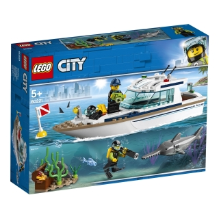 LEGO City Great Vehicles - Yate de Buceo