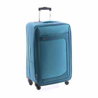 Trolley Map 80 Cm 4R Nylon Expandible Azul-Verde