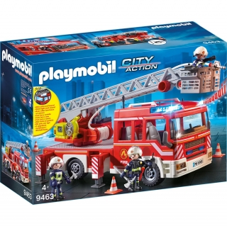 Playmobil City Action - Camión de Bomberos con Escalera