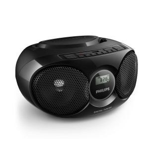 radio cd philips az318b 12 negro las mejores ofertas de carrefour. Black Bedroom Furniture Sets. Home Design Ideas