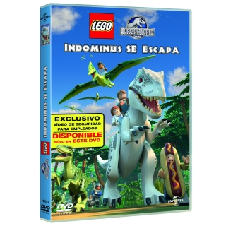 Jurassic World Lego Indominus se Escapa - DVD