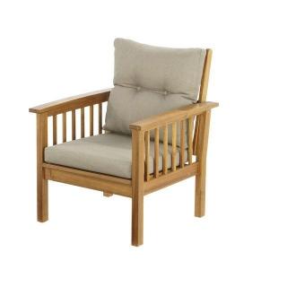Sill n de madera de acacia 70x76 7x89 cm morocco las - Sillones malaga ...