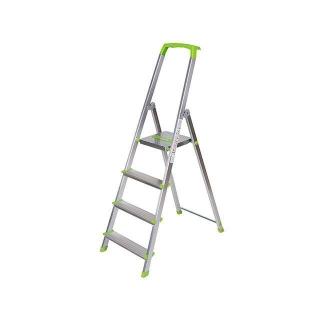 Escalera de aluminio 4 pelda os carrefour las mejores for Oferta escalera aluminio