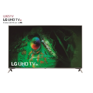"TV LED 139,7 cm (55"") LG 55UJ651V,UHD 4K,Smart TV"
