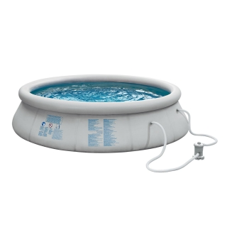 Piscina redonda hinchable 366x76 cm quick set las for Piscinas de plastico precios carrefour