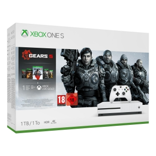 Xbox One S 1TB con Gears Of War 5