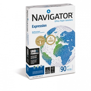 Paquete 500 Hojas Navigator Expression 90 gr DIN A4