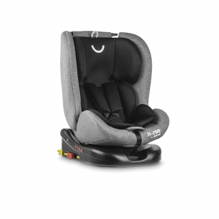 Silla de Coche Grupo 0+/1/2/3 Contramarcha Isofix Top Tether Giratoria 360º Nurse by Jane