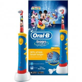 Cepillo de Dientes Eléctrico Infantil Oral-B Stages Mickey 6da898acb6d7