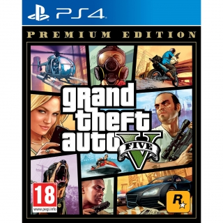 GTA V Premiun Edition para PS4