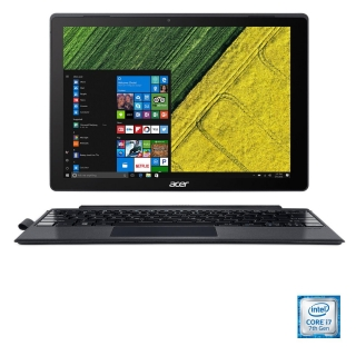 Convertible 2 en 1 Acer Switch 5 SW512-52-751A con i7, 8GB, 256GB, 30,48 cm - 12'' con Active Stylus