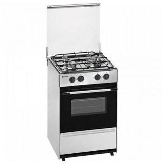 Cocina de gas zanussi zcg210h1wa las mejores ofertas de for Cocina de butano sin horno